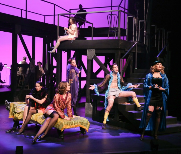 The Threepenny Opera ensemble. Photo by Ed Ellis.
