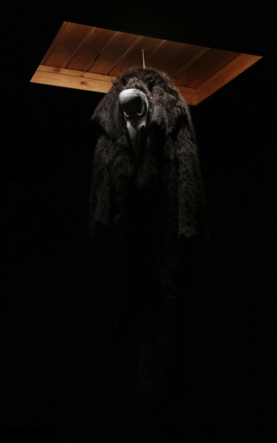 Picture of a strange mammalian costume from Pilgrimage by Kyle Terrence