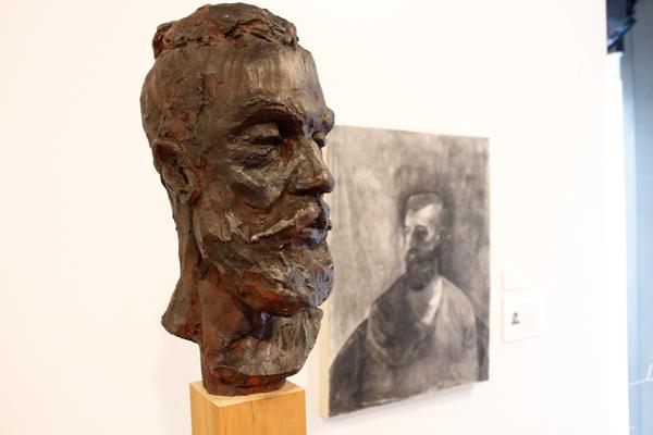 Citrine, clay, by Maud Madsen