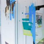Referent - Morgan Melenka - Painting on plexiglass